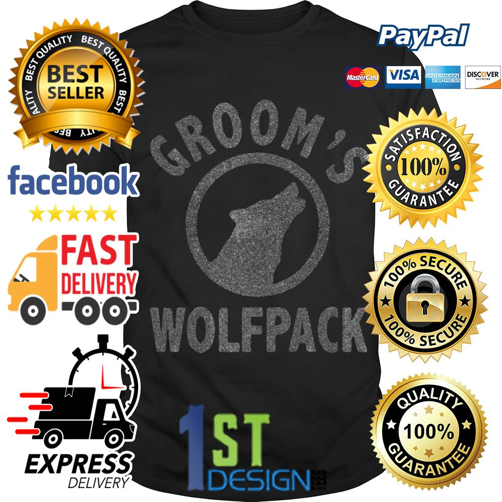 Grooms Wolfpack shirt