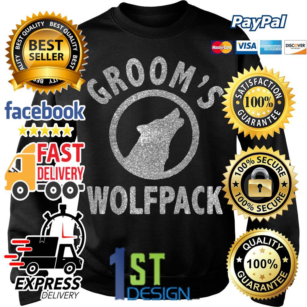 Grooms Wolfpack Sweater