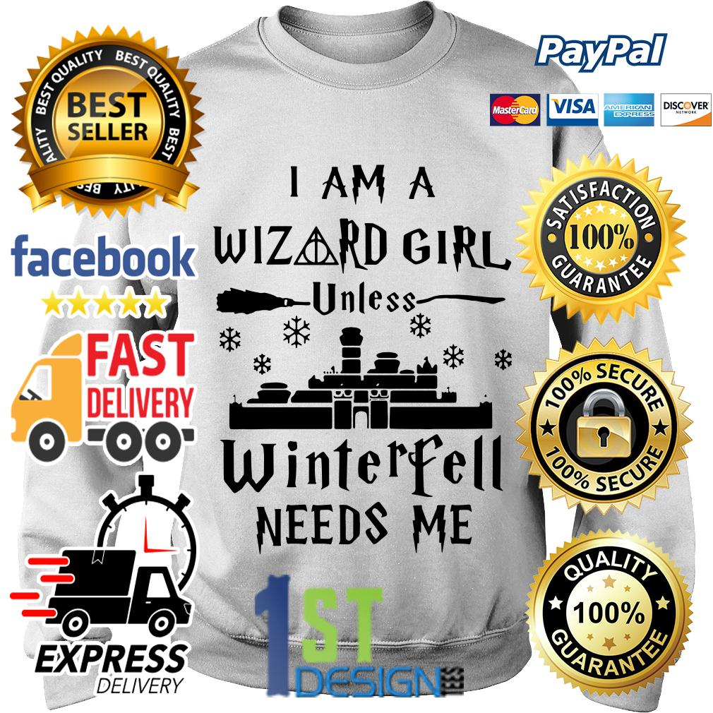 I am a Wizard girl unless Winterfell needs me Sweater