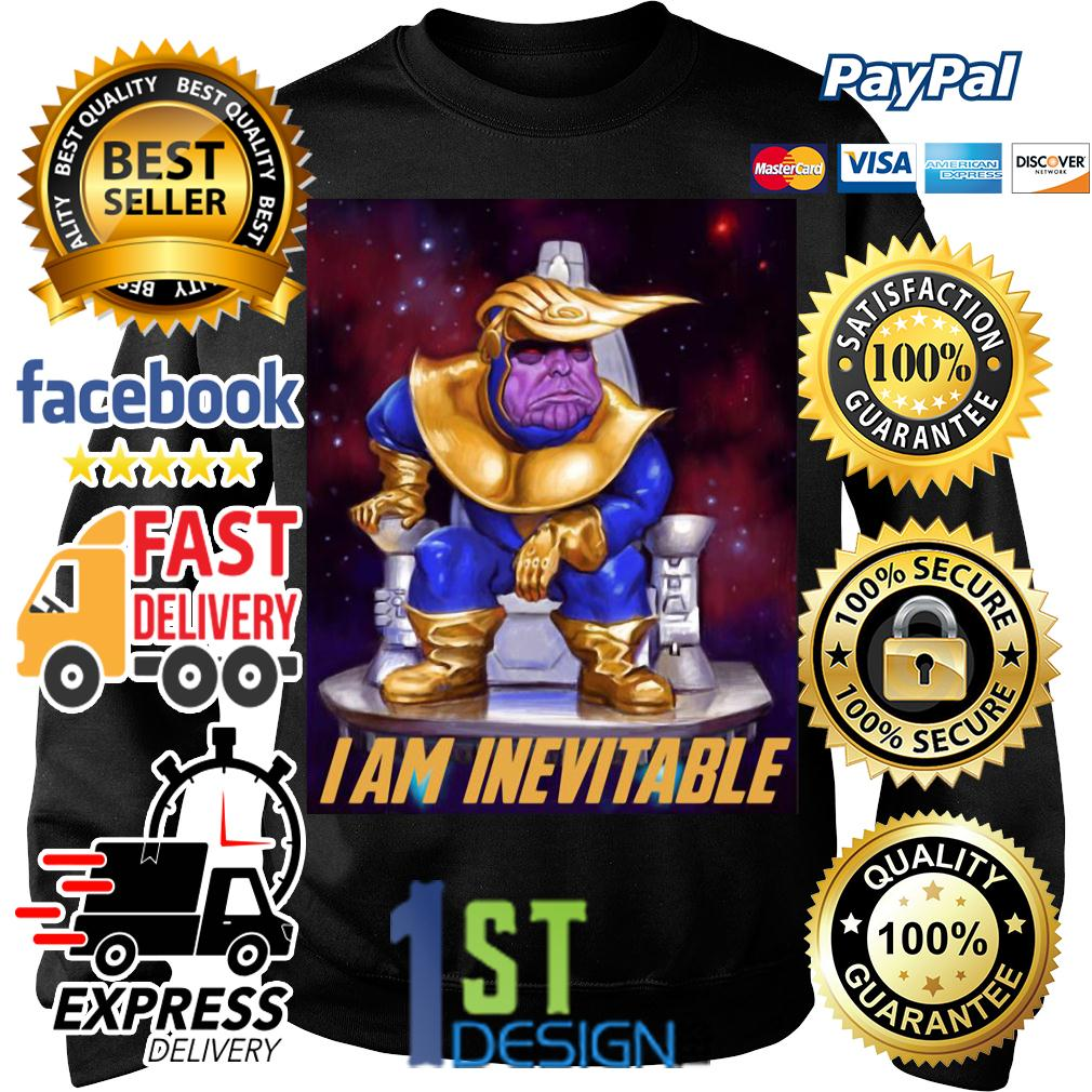 Marvel Marvel Avengers Endgame Thanos Trump I am Inevitable SweaterAvengers Endgame Thanos Trump I am Inevitable shirt