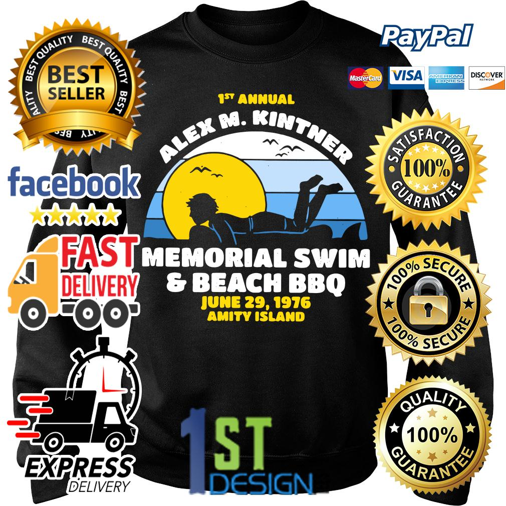 1st annual Alex M.Kintner memorial swim and beach BBQ June 29 Sweater