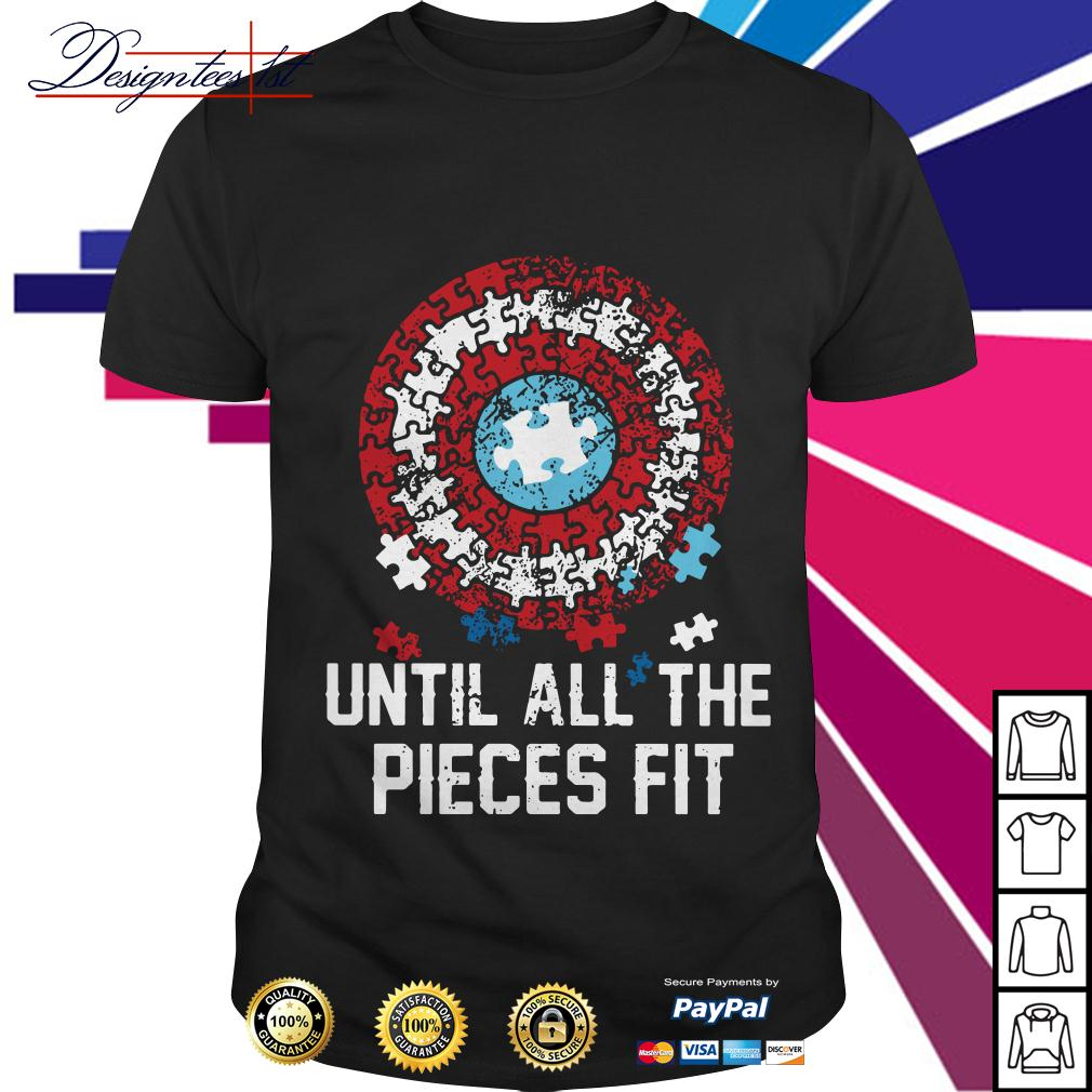 Autism until all the pieces fit shirt