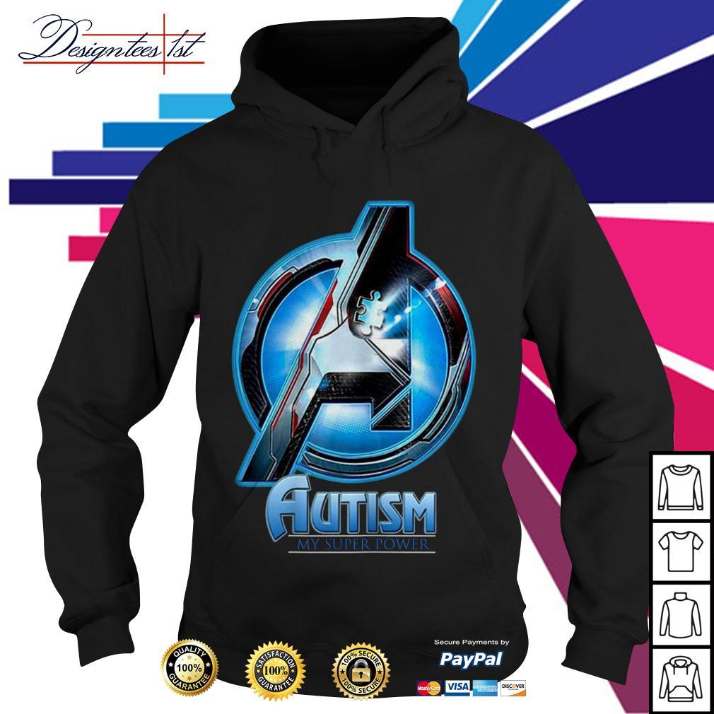 Avengers autism my super power Hoodie