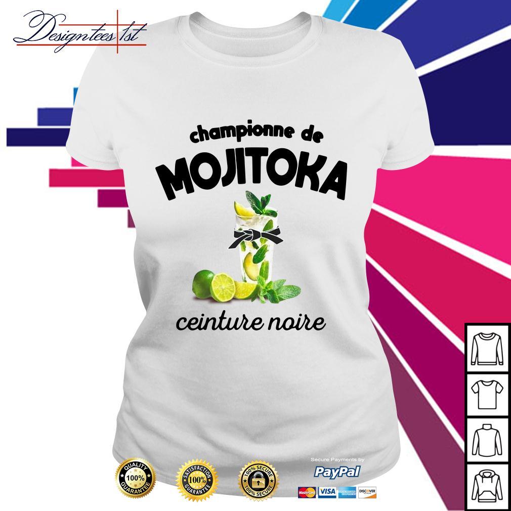 Championne de Mojitoka ceinture noire Ladies Tee