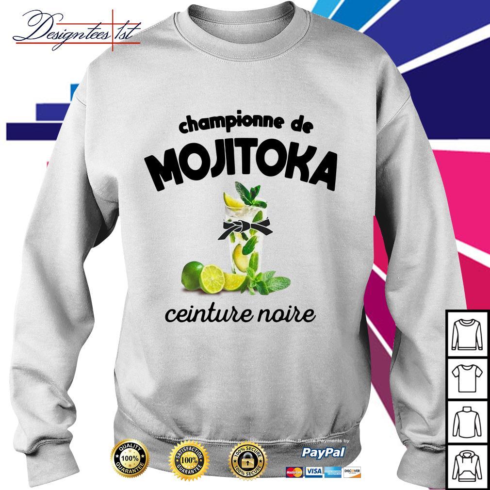 Championne de Mojitoka ceinture noire Sweater