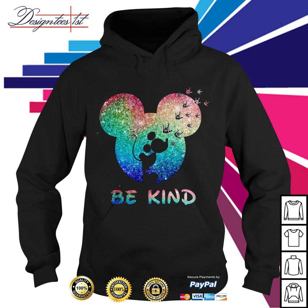Disney Mickey Mouse be kind Hoodie