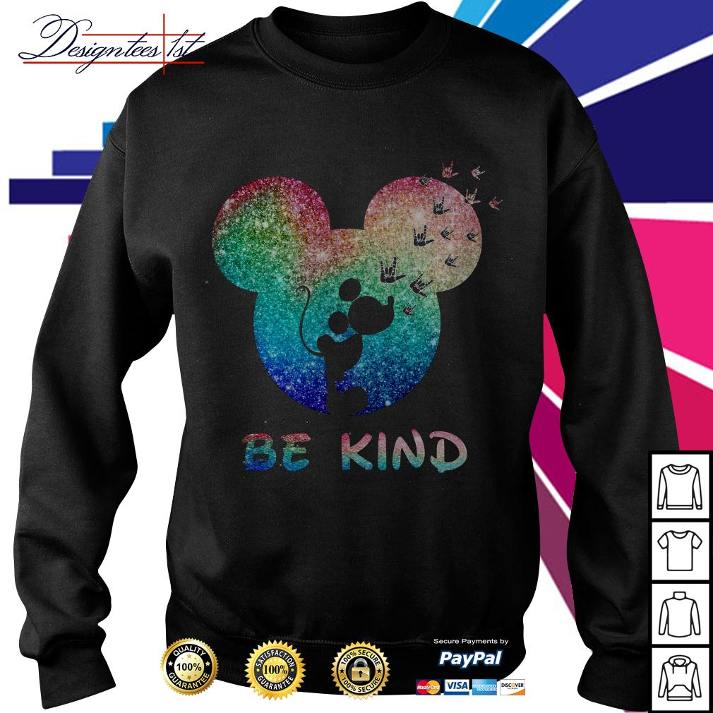 Disney Mickey Mouse be kind Sweater