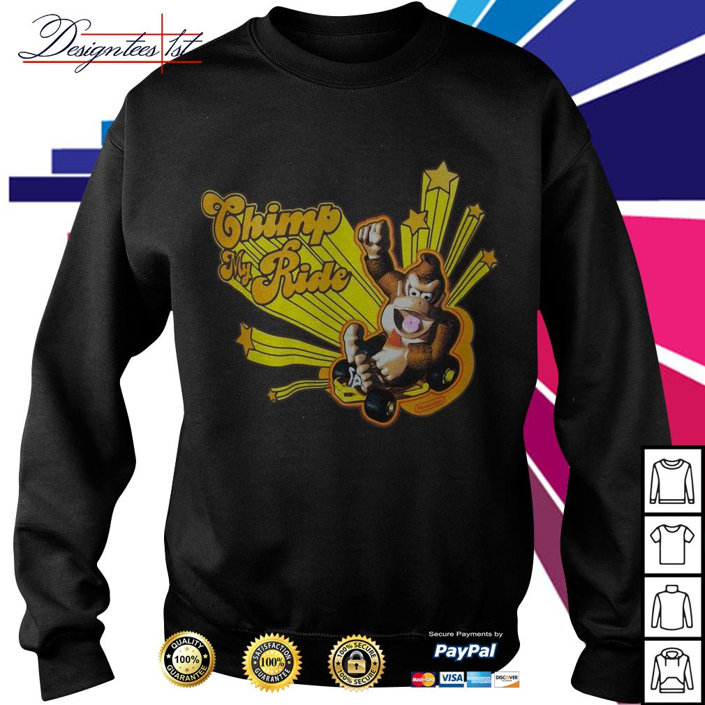 Donkey Kong Mario Kart chimp my ride Sweater