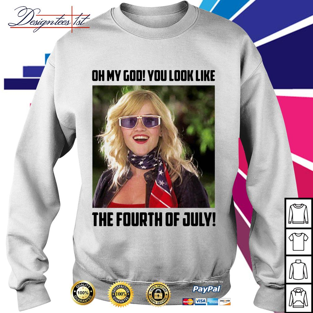 Legally Blonde 2 oh my god you look like the fourth of July Sweater
