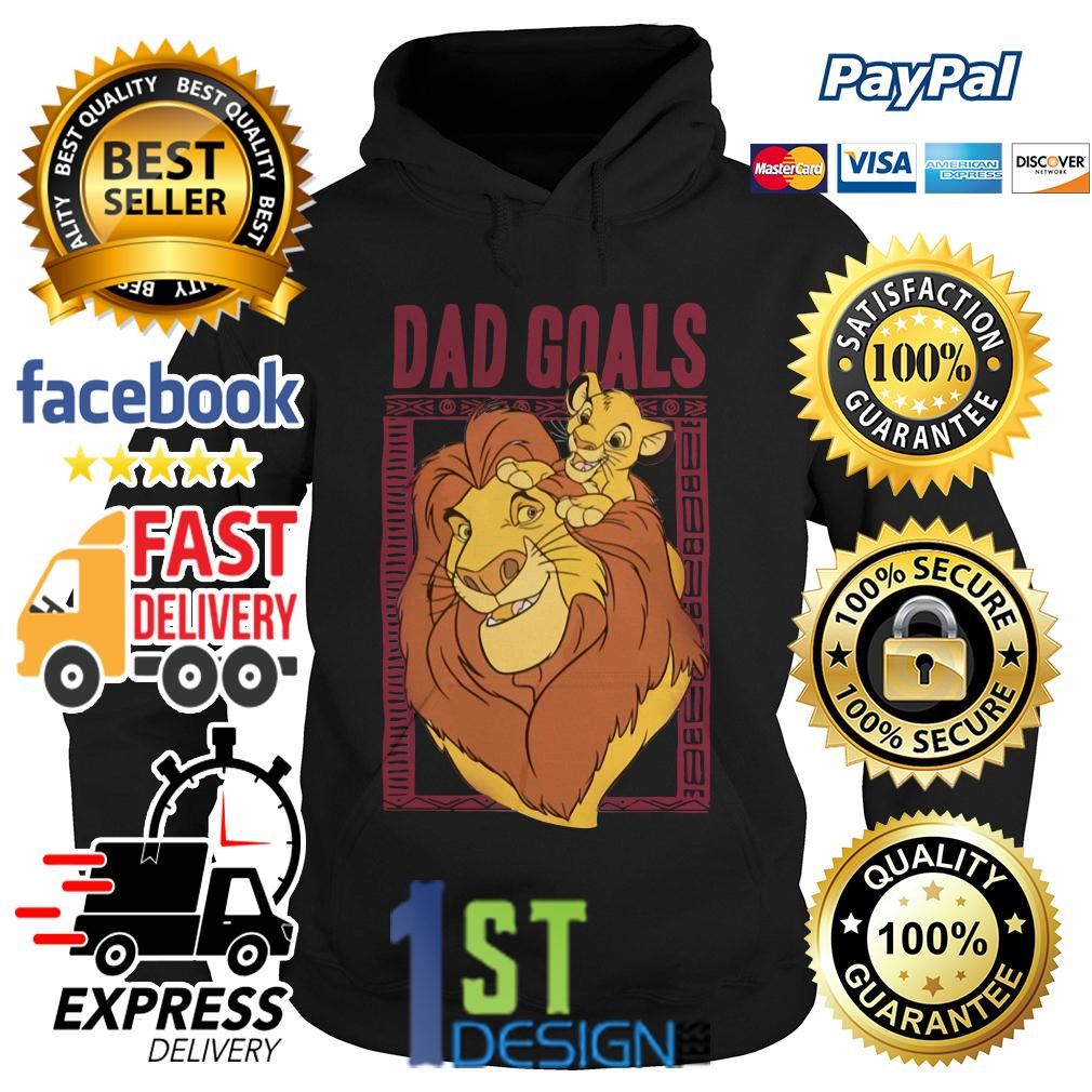 Lion dad and son the lion king dad goals Hoodie