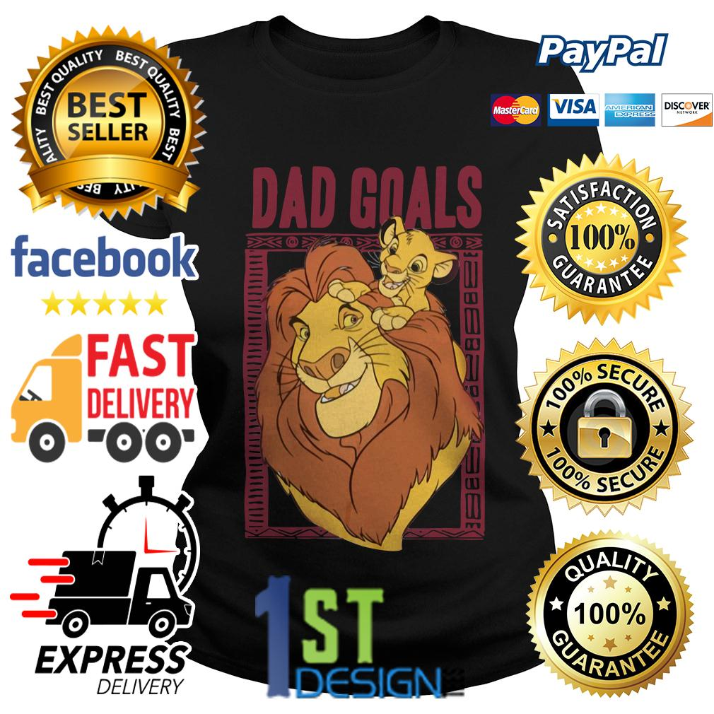 Lion dad and son the lion king dad goals Ladies Tee