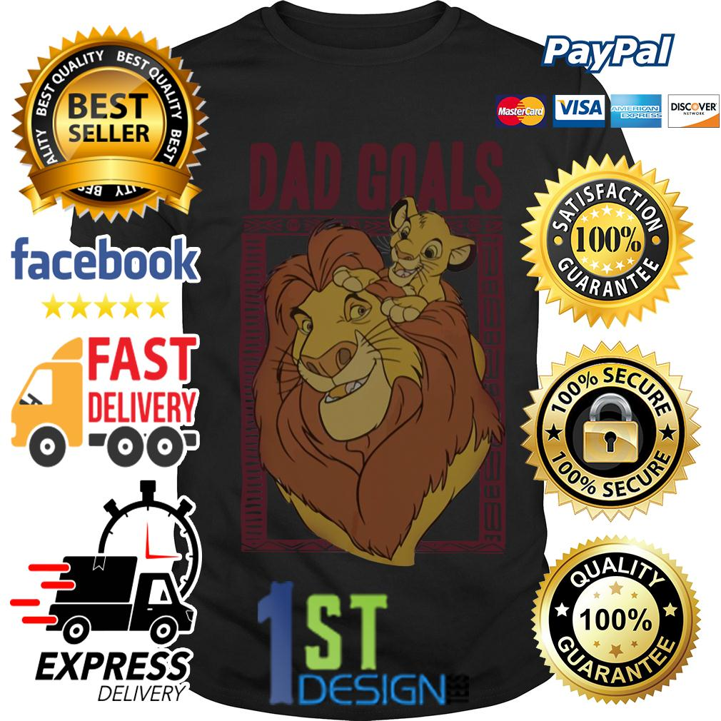 Lion dad and son the lion king dad goals shirt