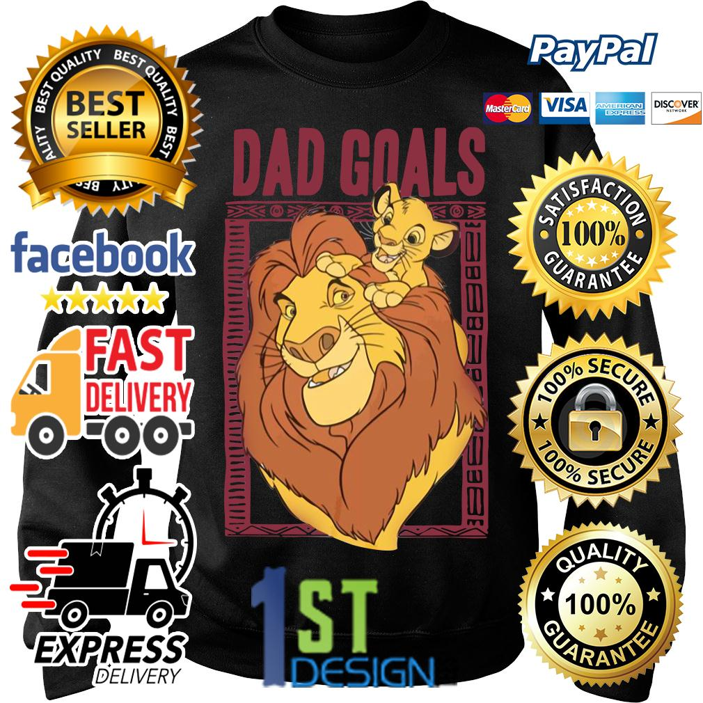 Lion dad and son the lion king dad goals Sweater