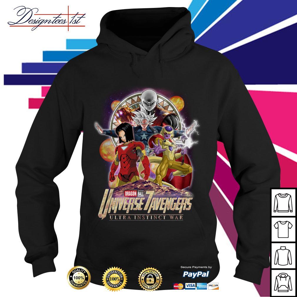 Marvel Dragon Ball 7 Universe Avengers ultra instinct war Hoodie