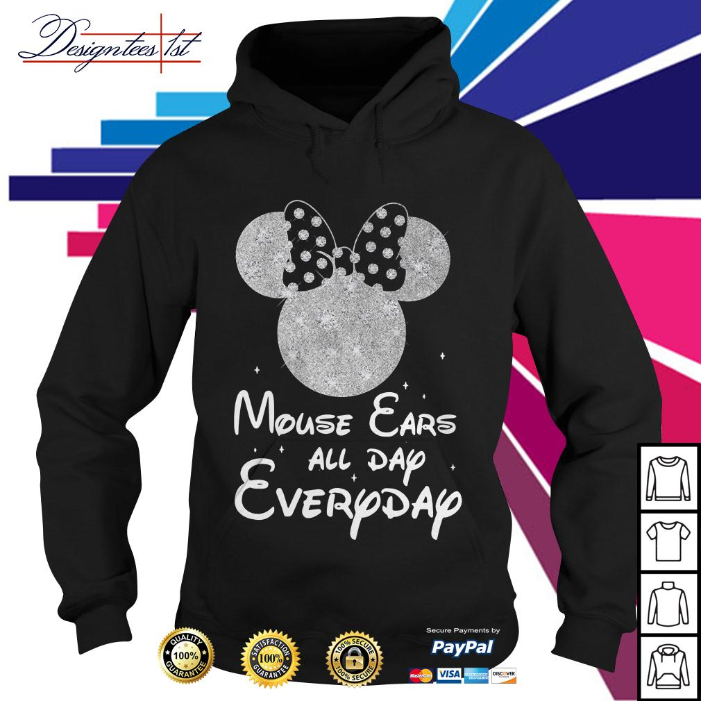 Minnie mouse ears all day everyday Hoodie