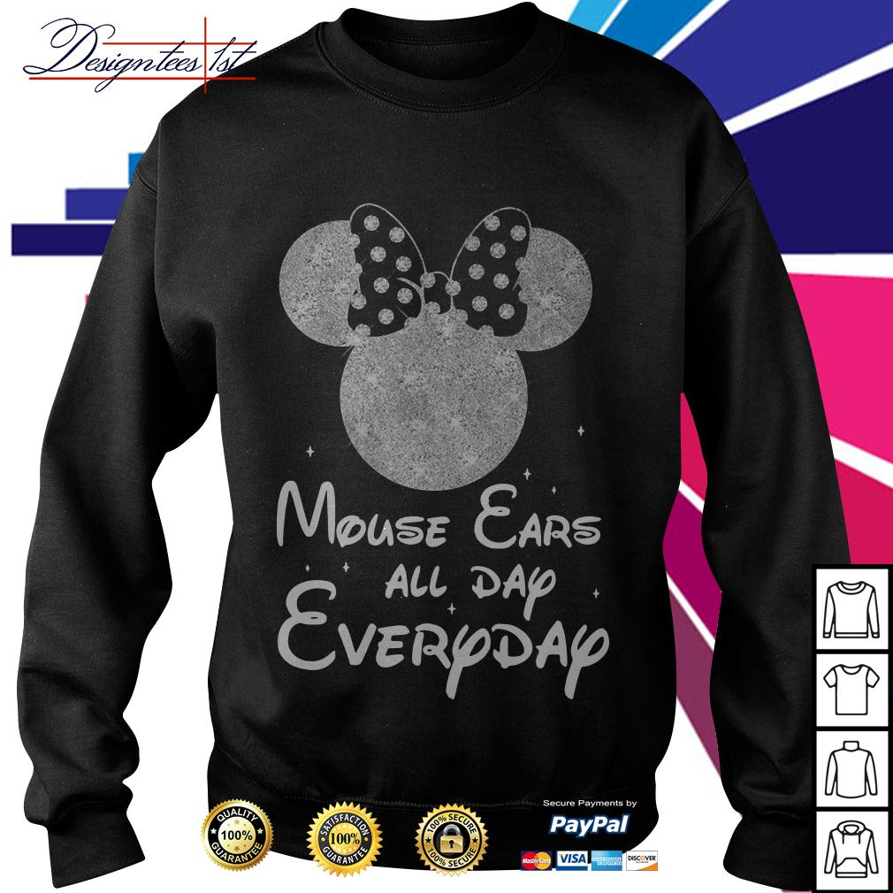 Minnie mouse ears all day everyday Sweater