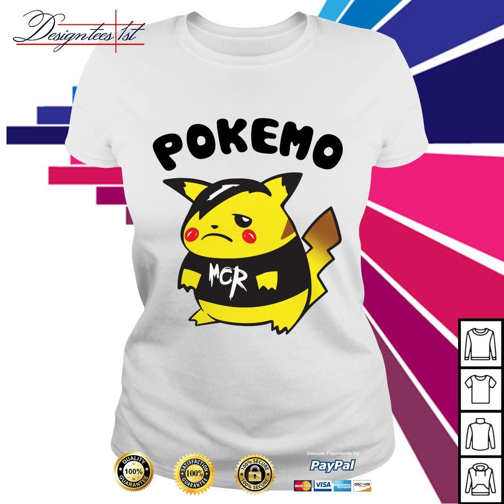 Pikachu Pokemon Pokemo MCR Ladies Tee