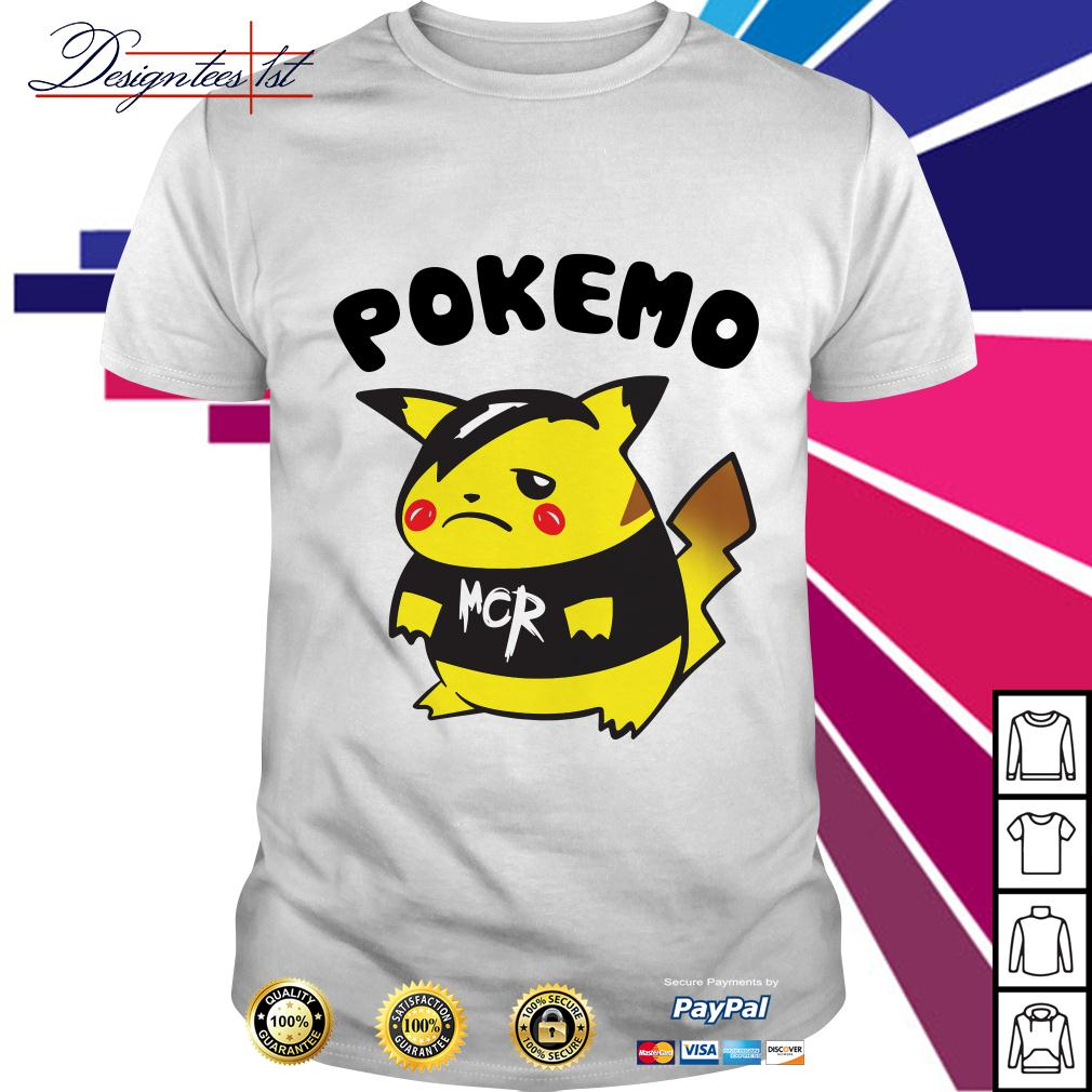 Pikachu Pokemon Pokemo MCR shirt