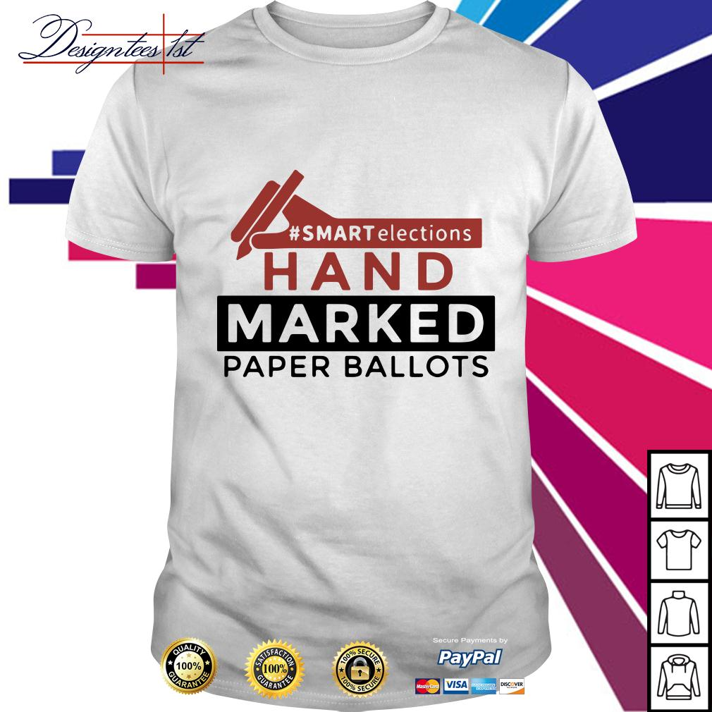 #smart election hand marked paper ballots shirt
