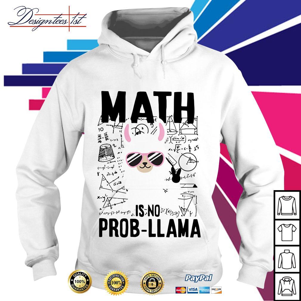 Teachers day math is no prob-Llama Hoodie