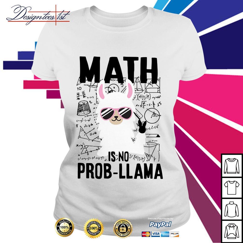 Teachers day math is no prob-Llama Ladies Tee