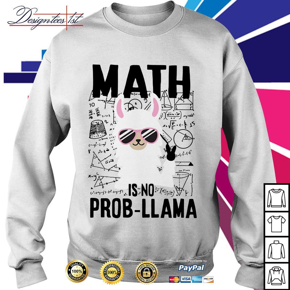 Teachers day math is no prob-Llama Sweater