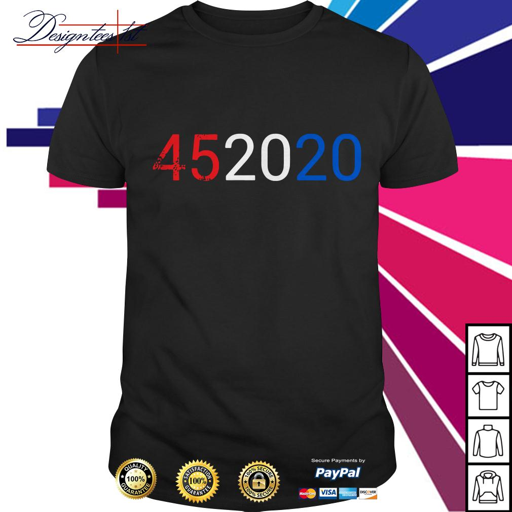 Trump 45 2020 vote Donald Trump shirt