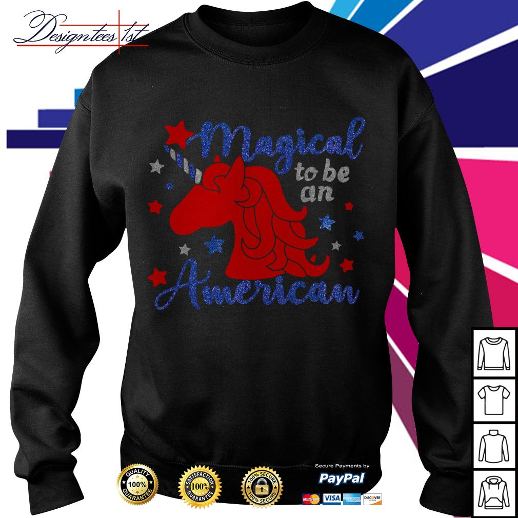 Unicorn magical to be an American Sweater