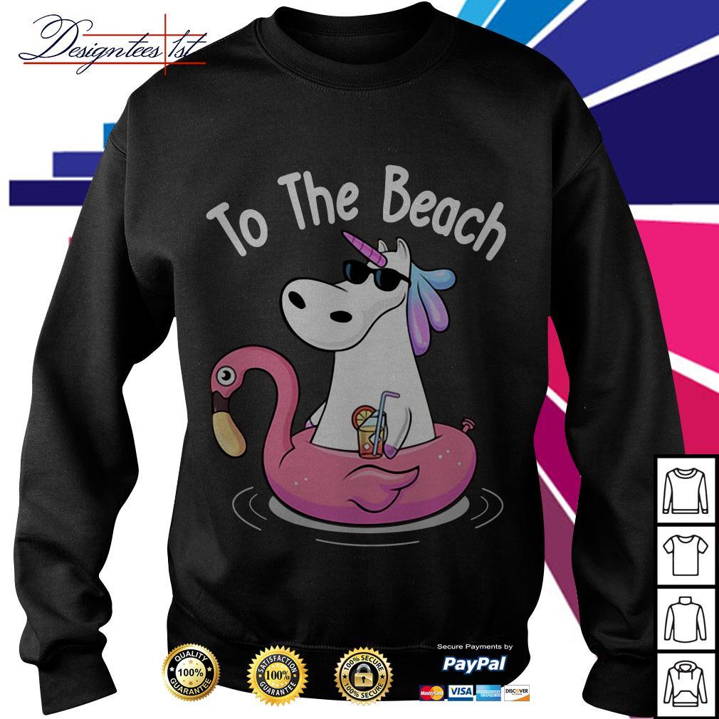 Unicorn to the beach Sweater