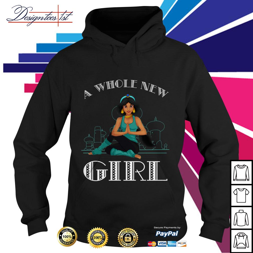 Disney Aladdin Princess a whole new girl Hoodie