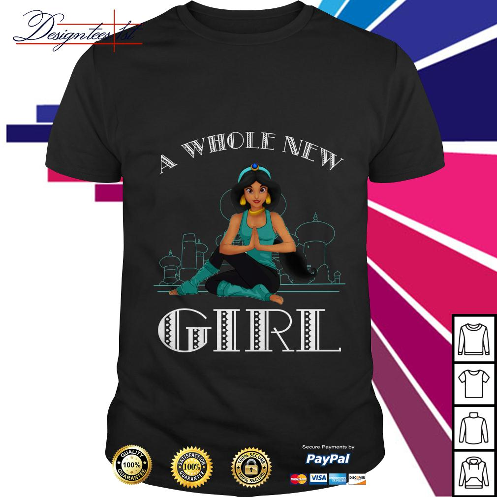 Disney Aladdin Princess a whole new girl shirt
