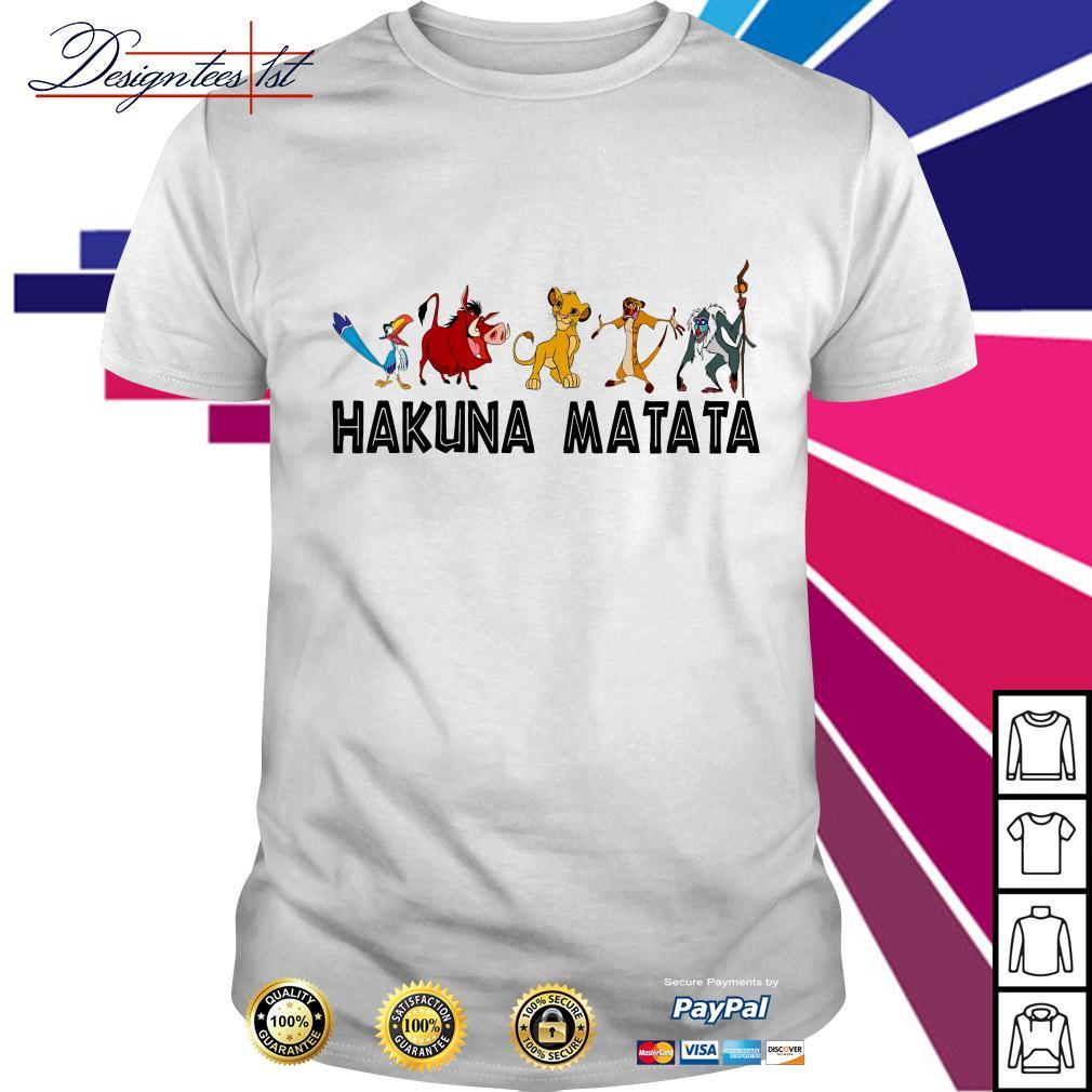 Disney Lion King Hakuna Matata shirt