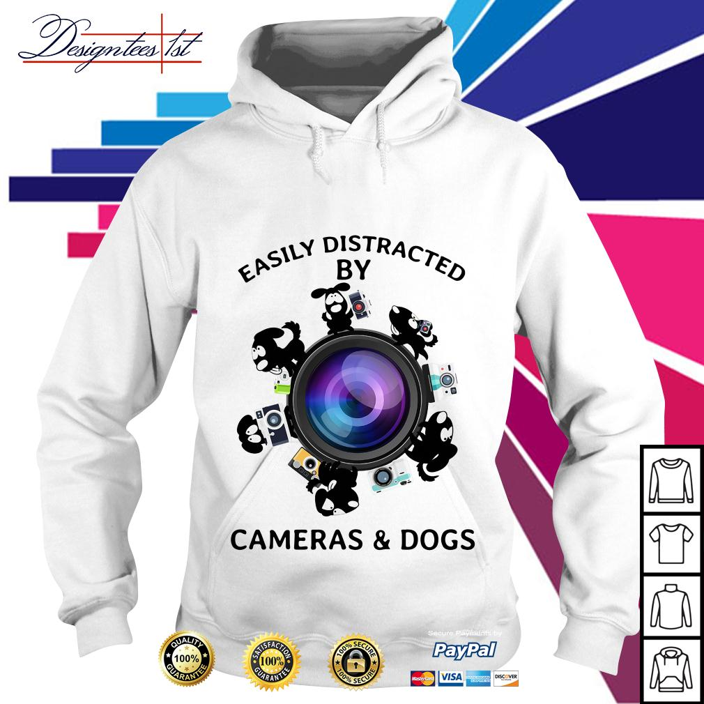 Easily distracted by cameras and dogs Hoodie