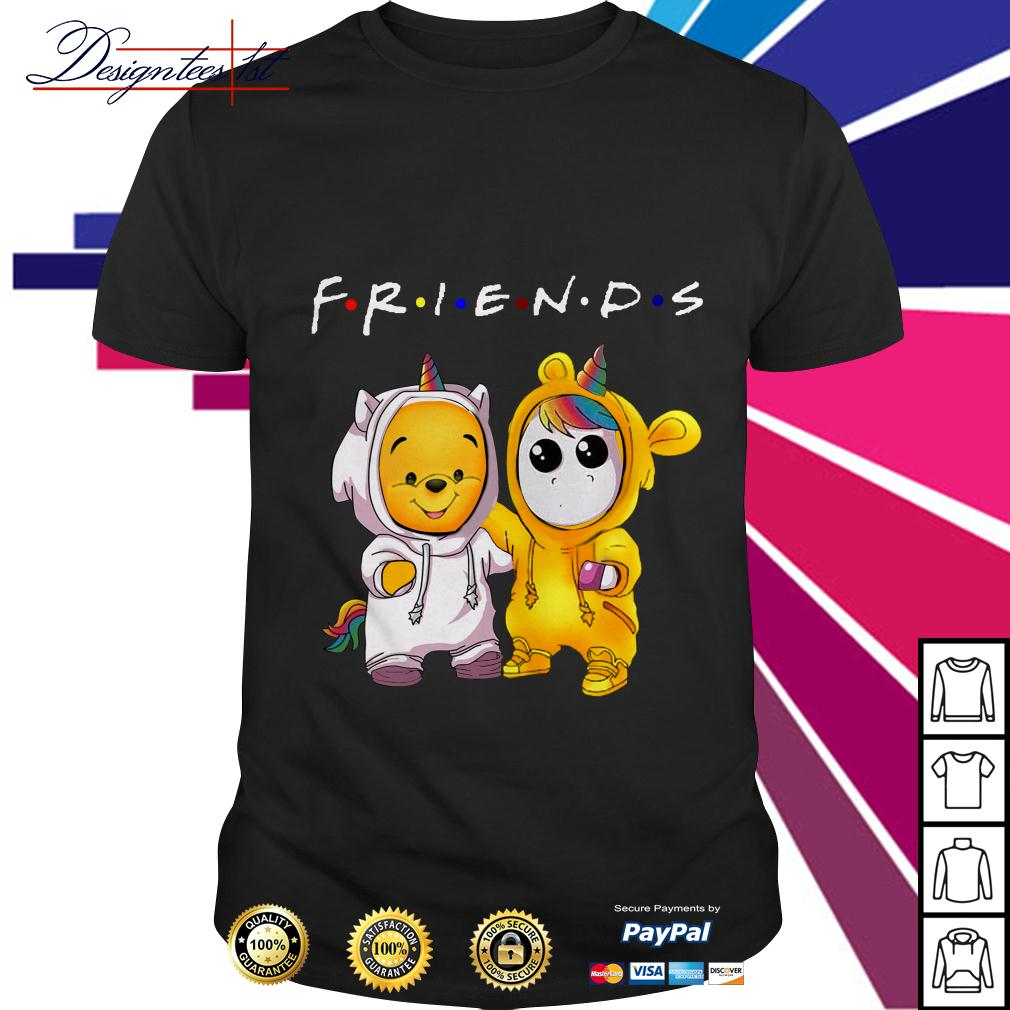 Friends Baby Pooh and Unicorn shirt
