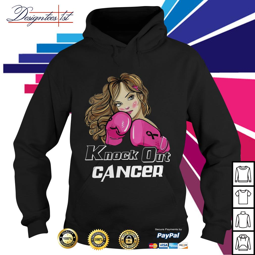 Girl cancer knock out cancer Hoodie