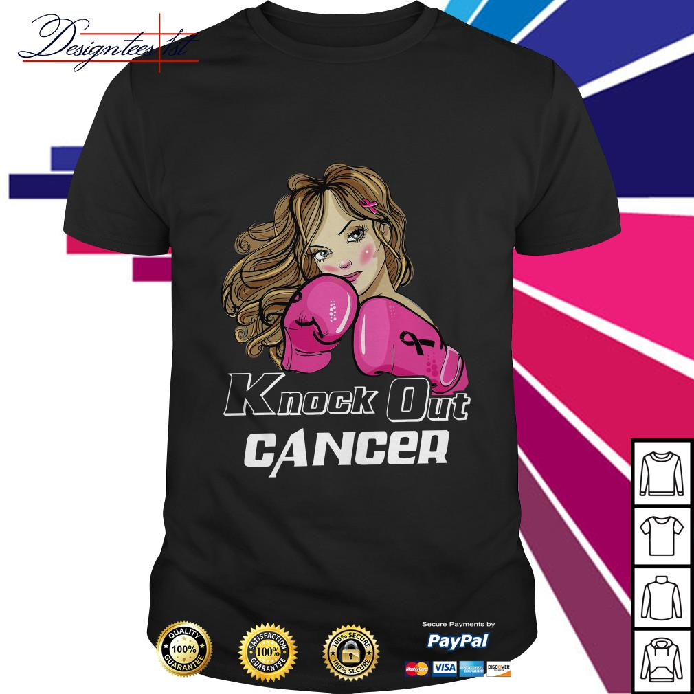 Girl cancer knock out cancer shirt