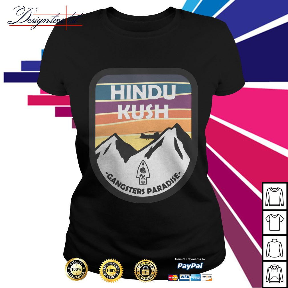Hindu Kush Gangsters Paradise Ladies Tee