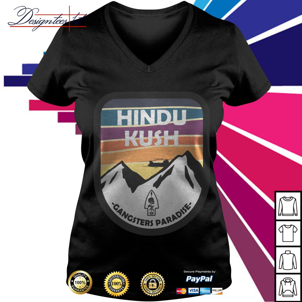 Hindu Kush Gangsters Paradise V-neck T-shirt