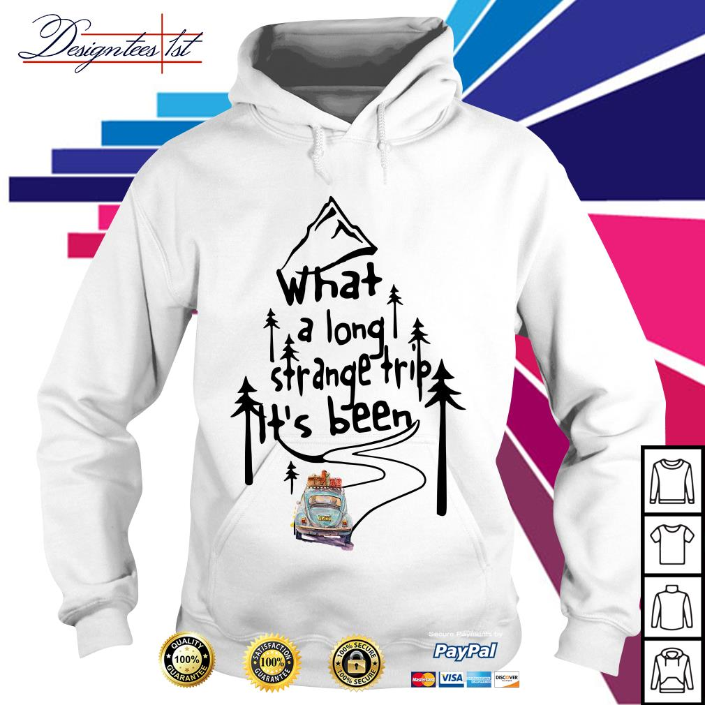 Hippie car what a long strange trip it's been Hoodie