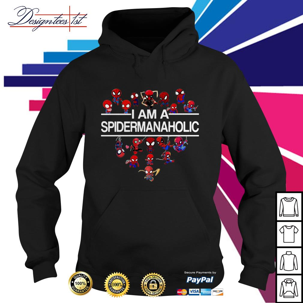 I am a Spidermanaholic Hoodie