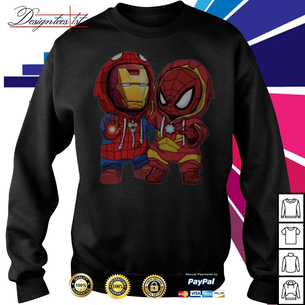 Kids Spider man and Iron man Sweater
