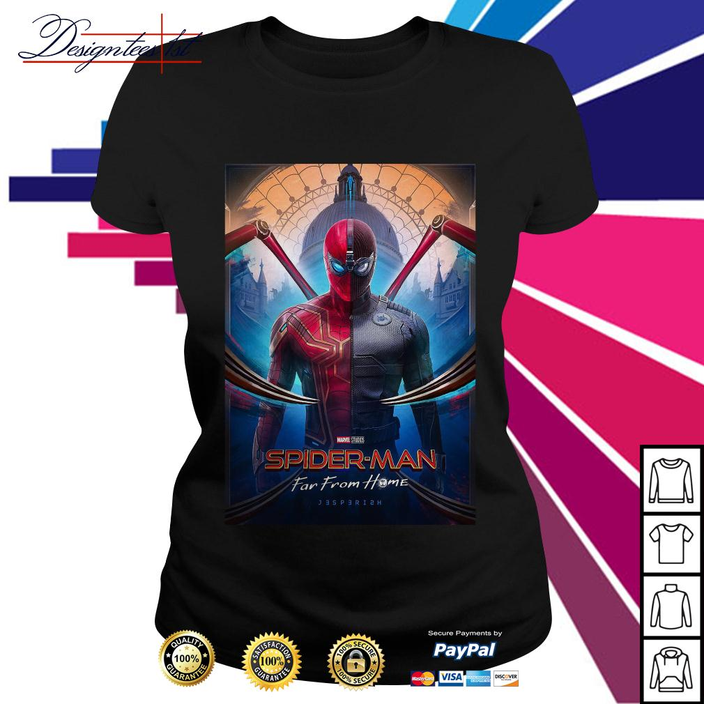 Marvel studios Spider-man far from home Ladies Tee