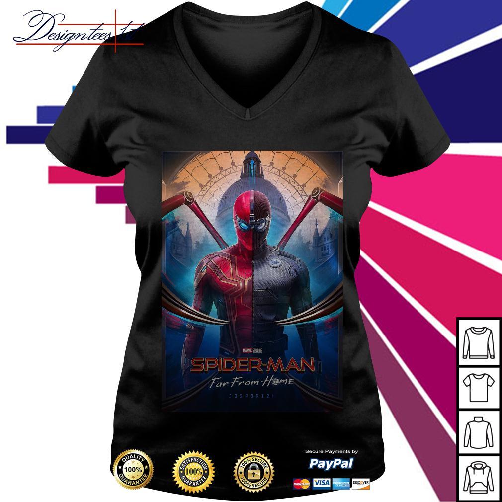 Marvel studios Spider-man far from home V-neck T-shirt