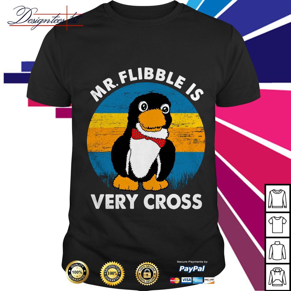Mr.Flibble is very cross vintage shirt