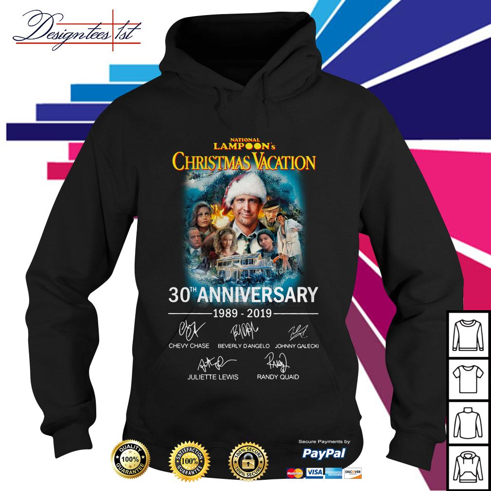Nation lampoon's Christmas Vacation 30th anniversary 1989-2019 Hoodie