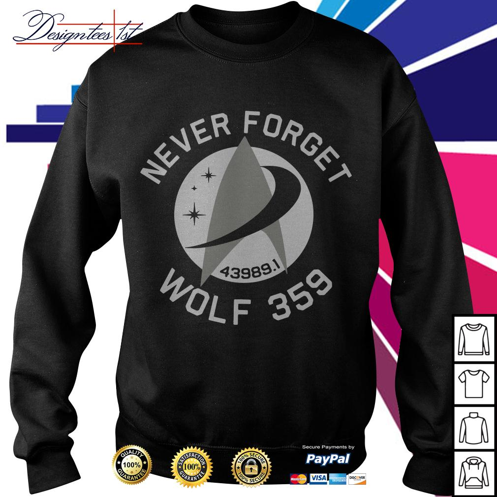 Never forget wolf 359 Sweater