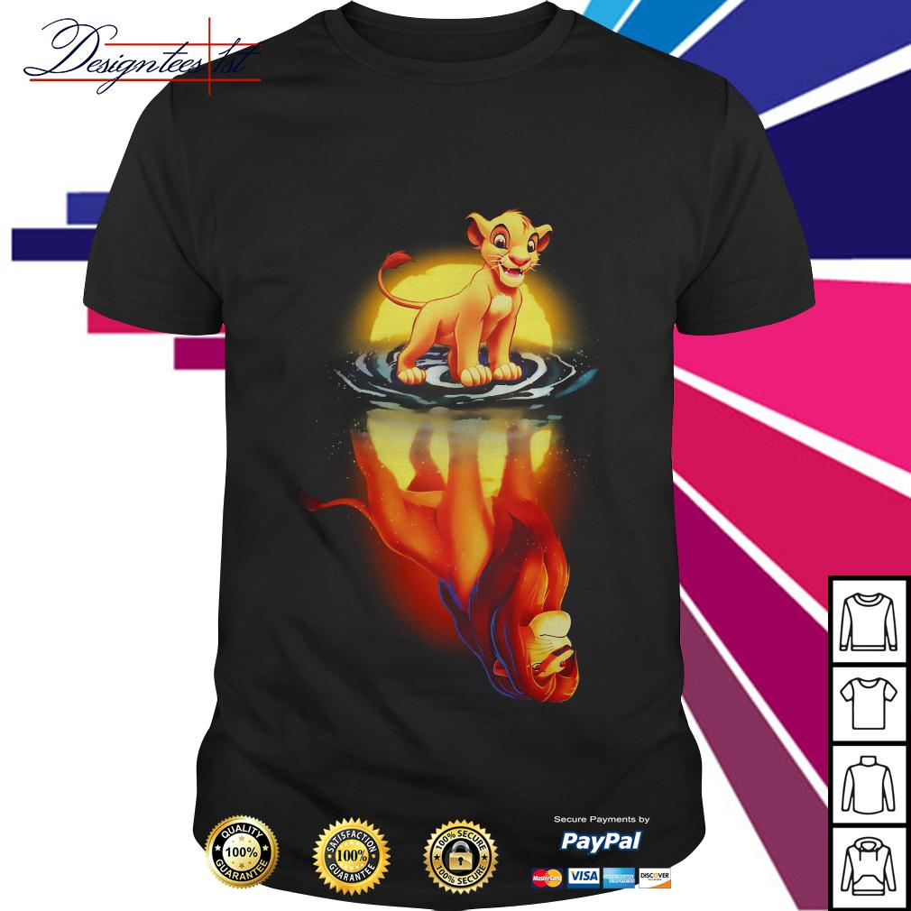 Simba moonlight lion king shirt