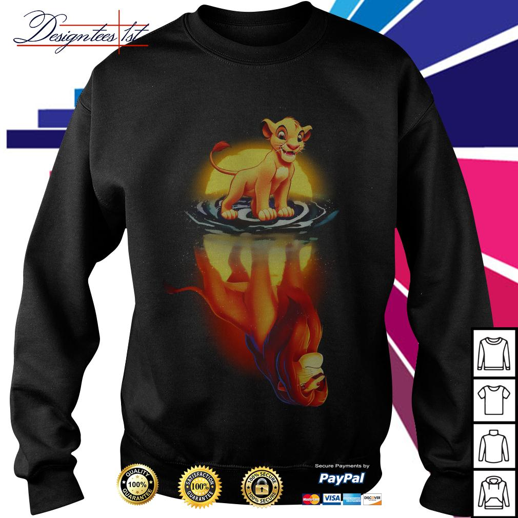 Simba moonlight lion king Sweater