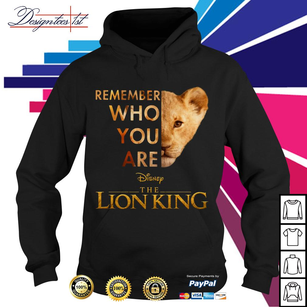 Simba remember who you are Disney the Lion King Hoodie