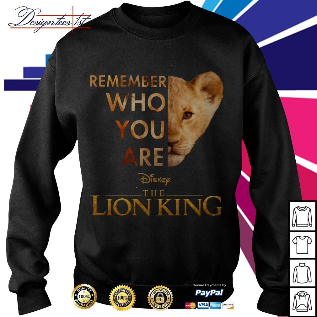 Simba remember who you are Disney the Lion King Sweater